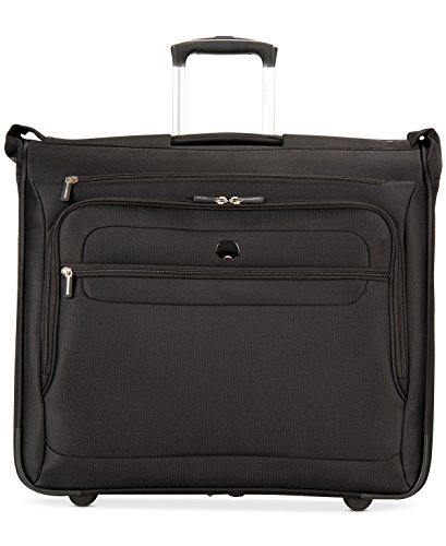 Delsey Luggage Fusion Wheeled Garment Bag, Black by DELSEY Paris