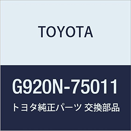 TOYOTA (トヨタ) 純正部品 ハイブリッドバッテリ カバーSUB-ASSY LH サイ NULL 品番G920N-75011 B01LWKA05P