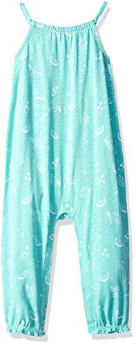 Gymboree Toddler Girls' 1-Piece Full Length Tank Bodysuit, Sweet Mint Fruit, 18-24 Mo