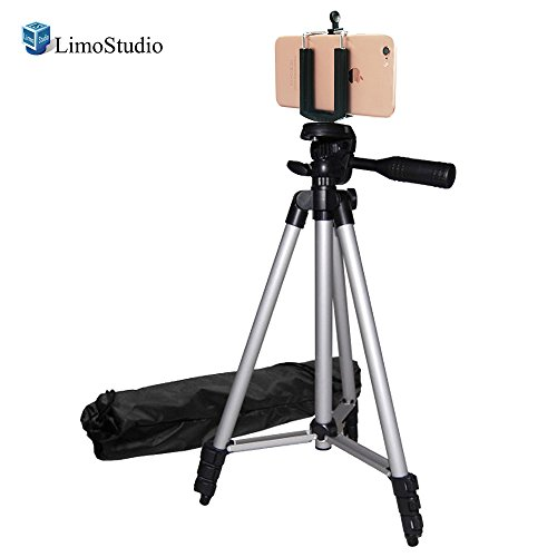 LimoStudio Digital Photography 50'' Camera Camcorder Tripod with Deluxe Tripod Carrying Bag, AGG304V2 by LimoStudio