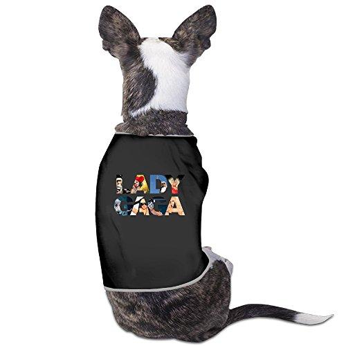 [PET-Funny Lady Gaga Singer Poster Pet Dog Shirts.] (Lady Gaga Costumes Ahs)