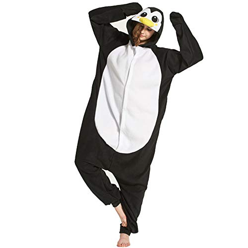 Adult Animal Cosplay Sleepwear Onesie Costume Pajamas for Women Men (color6-M)