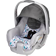 Evenflo Nurture Infant Car Seat, Teal Confetti
