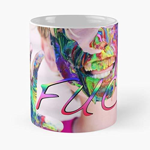 - Mess Mes - 11 Oz Coffee Mug- Unique Holiday Gift.