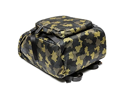 Prada Men's Top Flap Travel Backpack One Size Camouflage by Prada (Image #5)