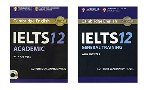 Cambridge English Ielts 12 Academic And General Training Book Combo With Answers Authentic Examination Papers