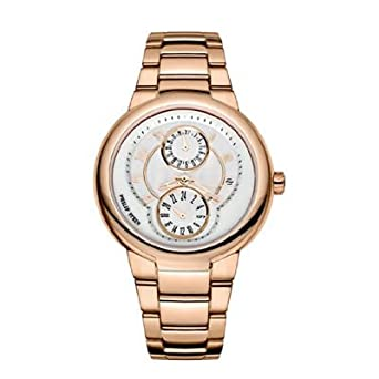 Philip Stein – 31-argw-rgss Damen-Armbanduhr 045J699 Analog weiß – Armband Gold Gold