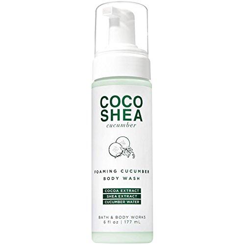 Bath and Body Works Cocoshea Cucumber Foaming Cucumber Body Wash 6fl.oz