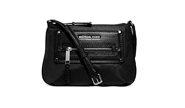michael michael kors gilmore nylon crossbody black handbags rh amazon com