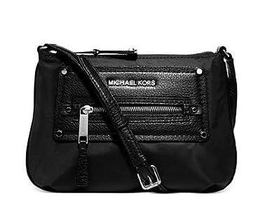 1922c9c2d21f MICHAEL Michael Kors Gilmore Nylon Crossbody (Black): Handbags: Amazon.com