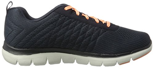 Grau Foam Einlegesohle Free Char Running Appeal Skechers Gepolsterter mit Outdoor Air Break Trainers Flex 0 2 Schnürung Damen aus und Cooled Memory x6xqwFHR