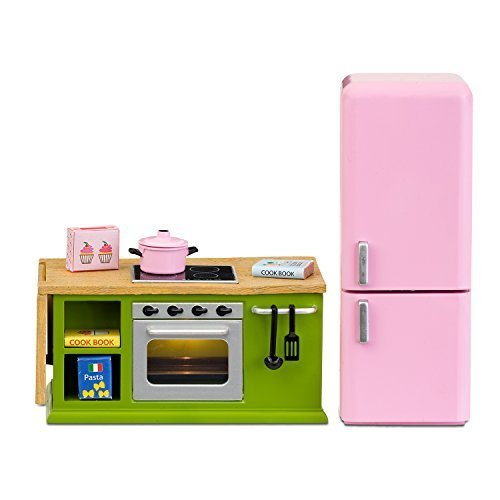 LUNDBY Smaland Cooker Plus Fridge Playset