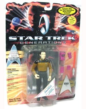 Star Trek Generations Lieutenant Commander Data 4.5