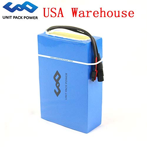Hot Sale! 48V 20AH E-Bike Waterproof PVC Lithium Battery with Charger for 1000 Motor (USA Warehouse) (48V 20AH)