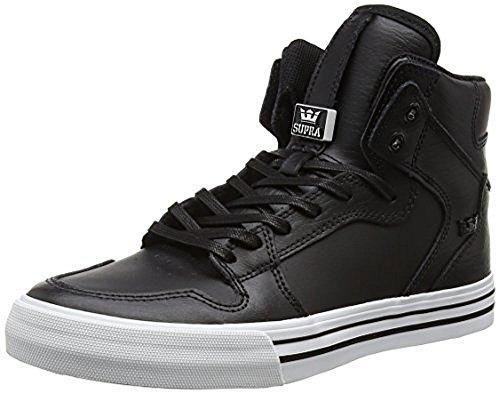 Supra Vaider Shoe, Black/White, 10 Regular US