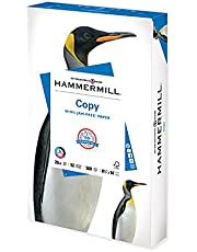 Hammermill Printer Paper, 20 lb Copy Paper, 8.5 x 14 - 1 Ream (500 Sheets) - 92 Bright, Made in the USA, 105015