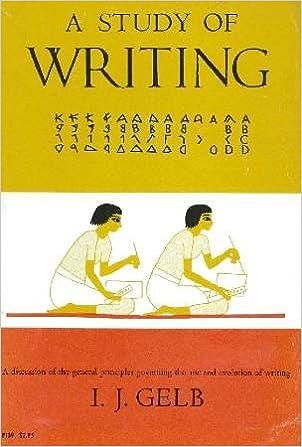 study of writing