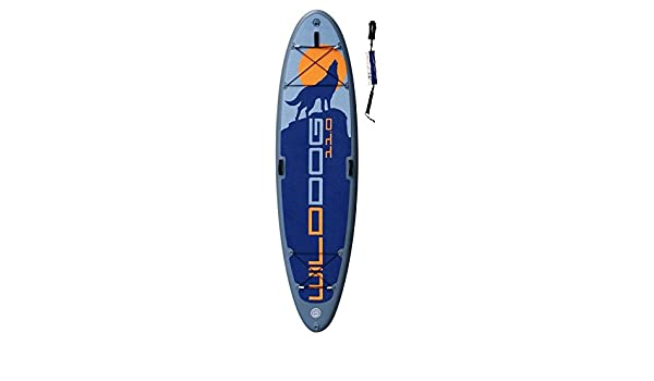 SUPwave® stemax Wild Dog 11 0 Sup 2018 Standup - Tabla de Surf de remo hinchable Incluye Coil de Leash, Stand Up Paddle, Yoga, fitness, perro, ...