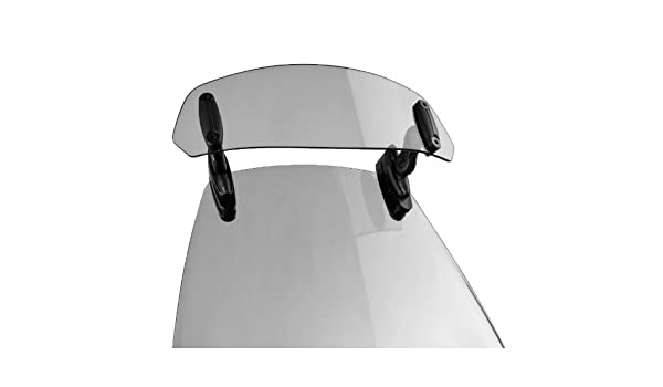 Visera multiregulable Benelli TRK 502 Puig Clip-On Spoiler ahumado