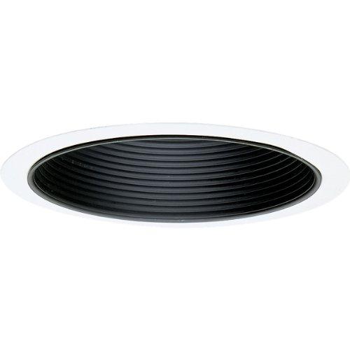 Progress Lighting P8114-31 Baffle Trim UL/CUL Listed for Damp Locations, Black ()