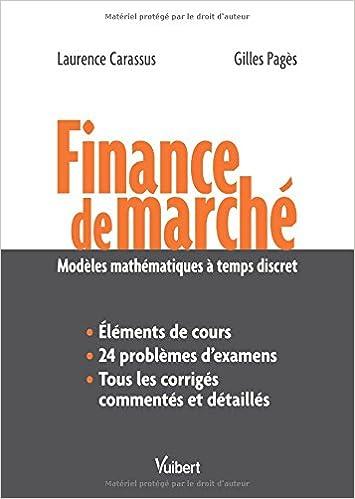 Téléchargement Finance de marché - Modèles mathématiques à temps discret pdf