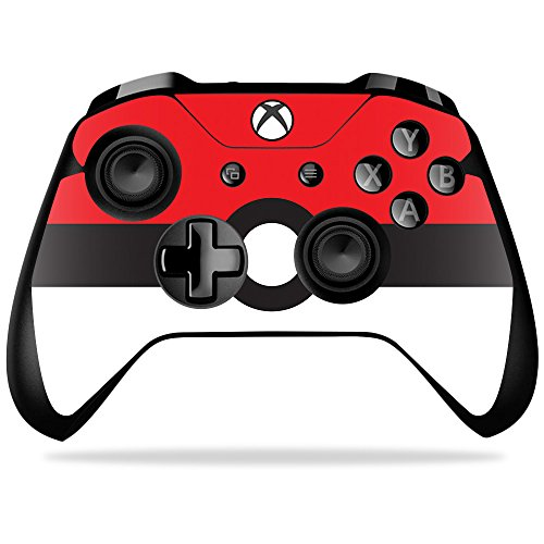 MightySkins Skin Compatible with Microsoft Xbox One X Controller - Battle Ball   Protective, Durable, and Unique Vinyl Decal wrap Cover   Easy to Apply, Remove, and Change Styles   Made in The USA (360 Xbox Digimon Games)