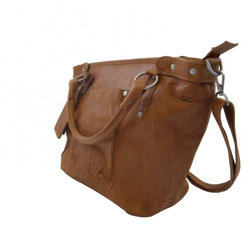 Cowboysbag Bag Bridgewater - Bolso de hombro Mujer Tobacco (Marrón)
