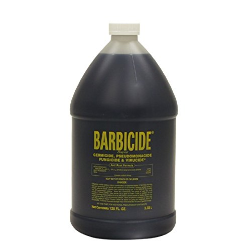 128 Ounce Gallon (Barbicide Disinfectant Liquid Gallon 128oz by Barbicide)