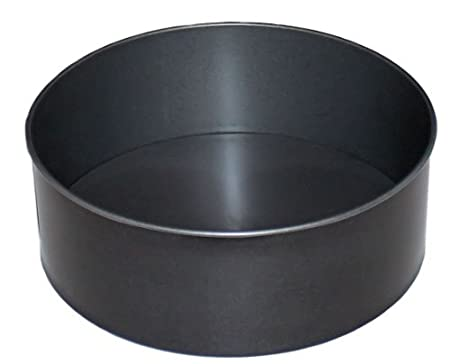 12 Inch Round Cake Tin Deep 30cm British Made With Glidex Non Stick