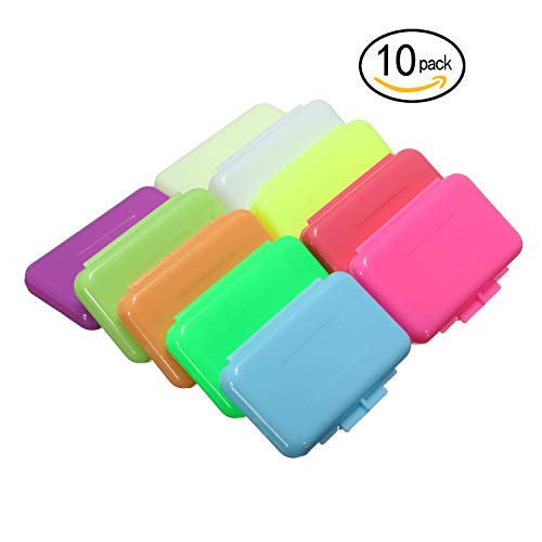 Oral Care Wax Dental Wax for Braces Orthodontics Mouth Lip Pain Relief 10 Different Flavors,10 Boxes ()