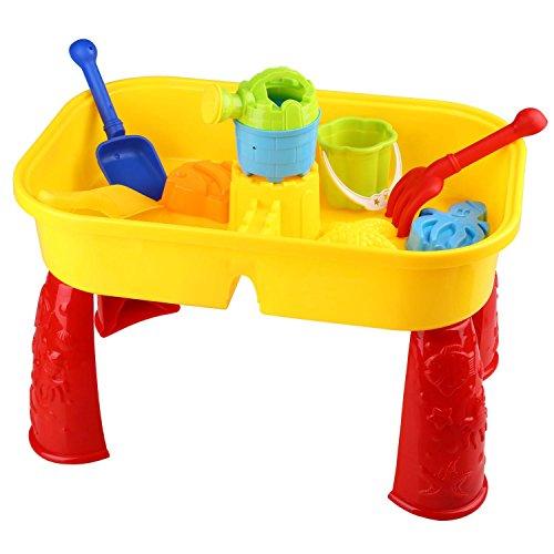 Peradix Sandspielzeug Strandspielzeug Sandspieltisch Wasserspieltisch Sandschaufel Seesterne Kinder