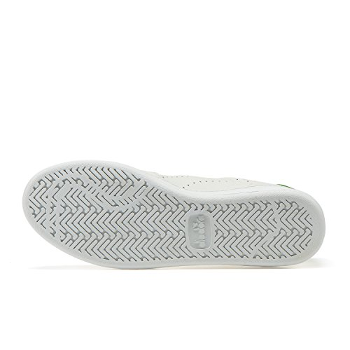 B Elite Sneaker smeraldo Perf L Diadora C0814 Uomo Bianco C1RHqHdw