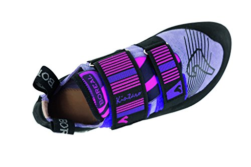 Chaussures Descalade Boréales Femmes Kintaro Cuir Noir Violet Rose 11563 Noir Violet Rose