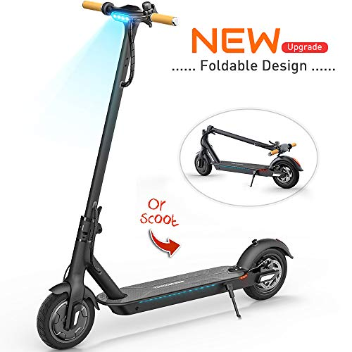 TOMOLOO Electric Scooter with Foldable Design, 18.6 Miles Long-Range, Up to 15.5 MPH, Commuting...
