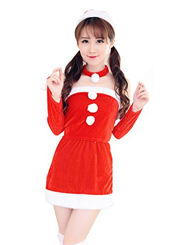 [YFFaye Women's Temptation Princess Christmas Uniforms] (4xl Santa Costume Uk)