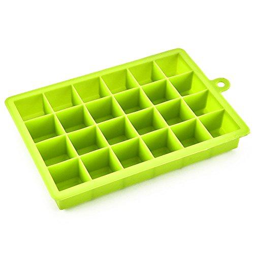 Your Supermart 24-Hole Silicone Ice Cube Tray Mold Maker Mould Fridge Freezer DIY Tool