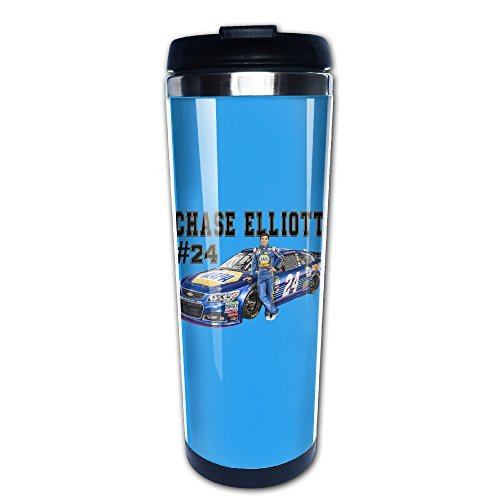 Ptloveing Chase Elliott #24 Stainless Steel Mug & Coffee Thermos ()