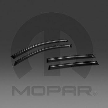 2014-2018 Jeep Cherokee Side Window Air Deflectors Mopar OEM