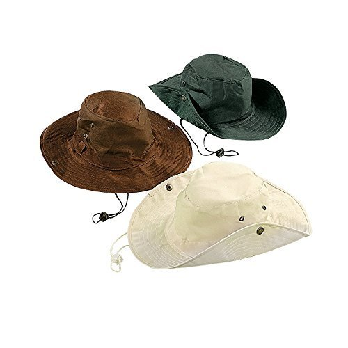 Child Cotton Aussie Outback Hats (1 dz) ()