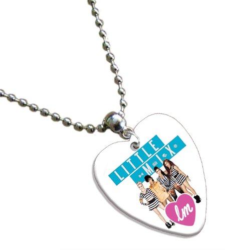 Little Mix Love Heart Guitar Pick Collier Band Médiator