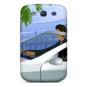 Hot New 3d Leisure Tourism Cases Covers For Galaxy S3 With Perfect Design