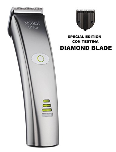 MOSER 1884-0053 Li Pro DIAMOND BLADE Professional Cord Cordless Hair Clipper Special Edition NEW