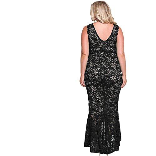 Vestidos XXL Tallas Grandes Plus Ropa De Moda Para Mujer Sexys Casuales Largos De Fiesta y Noche Elegantes Blancos VE0070 at Amazon Womens Clothing store: