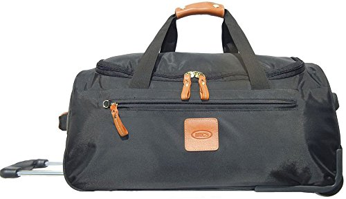 Bric's Luggage X-Bag 21 Inch Carry On Rolling Duffle, Black, One Size