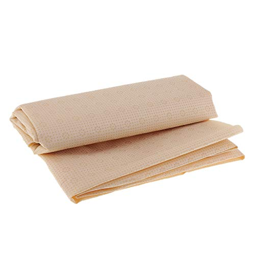 SM SunniMix Antislip Fabric Non Slip Rubber Gabardine Fabric by Yard for Cushion Carpet Sewing Accessories - Beige - Non Skid Fabric