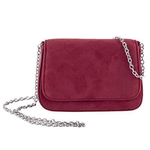faux ACX625MARSALA Cecere Rouge Eugenia d'embrayage Anna cuir Sac q1fwTf0z
