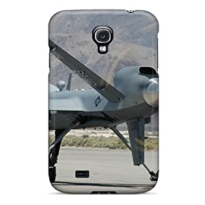 Tpu Case Cover For Galaxy S4 Strong Protect Case - U.s. Drone Design