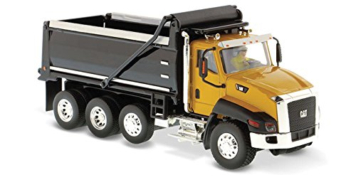 50 Diecast Vehicle (CAT Caterpillar CT660 Dump Truck Yellow Core Classics Series 1/50 by Diecast Masters 85290)