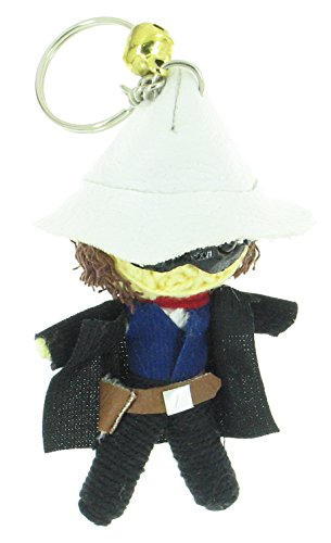 John Reid The Lone Ranger Voodoo String Doll Keyring (Comanche Indian Costumes)