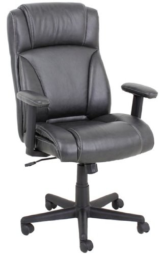 - Barcalounger 9099M-2 Leather Manager Chair